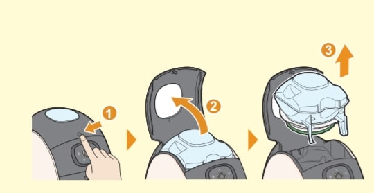 バリスタアイ タンク 設置方法